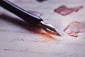pen, calligraphy, fountain pen